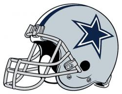 Helmet clipart dallas cowboy