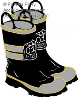 Boots clipart firefighter boot