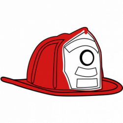 Fire Truck clipart fireman helmet