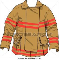 Coat clipart fireman