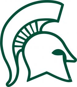 Helmet clipart michigan state