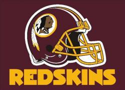 Helmet clipart washington redskins