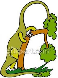 Brachiosaurus clipart herbivore