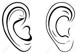 Herd clipart human ear