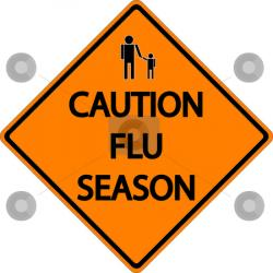 Chilling clipart flu season