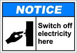 Electrical clipart injury