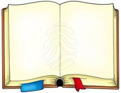 Bobook clipart opened