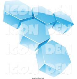Honeycomb clipart blue