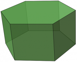 Hexagon clipart rectangular
