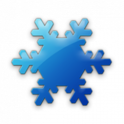 Hexagon clipart snowflake