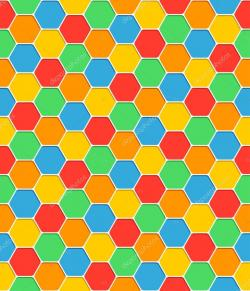 Hexagon clipart texture