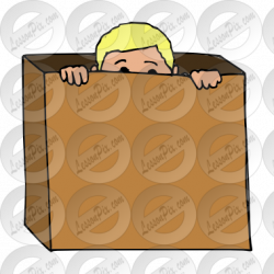 Hiding clipart hid