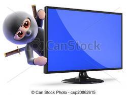 Hiding clipart ninja