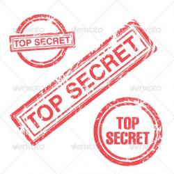 Hiding clipart secrecy