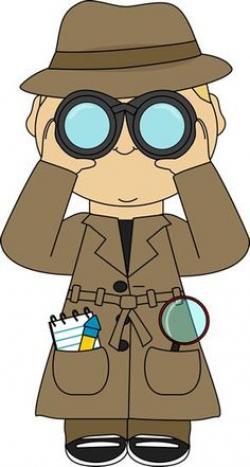 Glance clipart clue