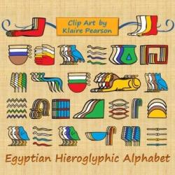 Hieroglyphs clipart egyptian art