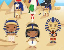 Anubis clipart egyptian boy