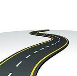 Highway clipart horizon