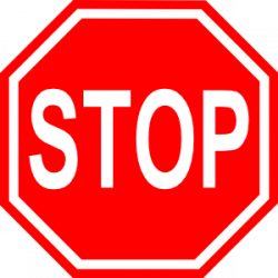 Area clipart traffic sign