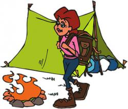 Camper clipart hiker