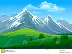 Mountain clipart alps