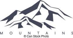 Montana clipart Mountain Range Clipart