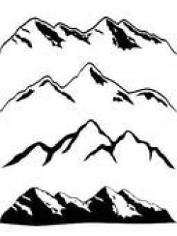 Mountain Ridge clipart himalaya