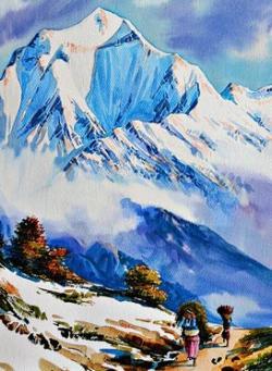 Himalaya clipart colorado mountain