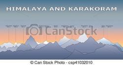 Himalaya clipart high mountain