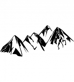 Himalaya clipart mountain range