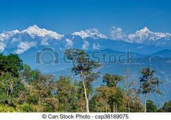 Himalaya clipart mountain tree