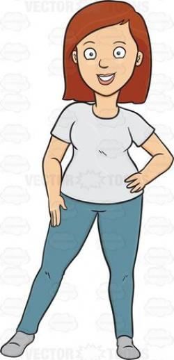 Hip clipart casual wear