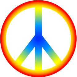 Hippies clipart 60's