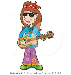Hippie clipart female