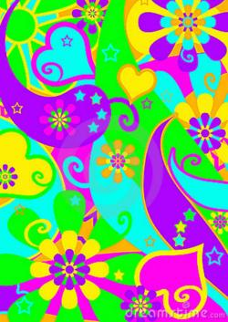 Hippies clipart funky