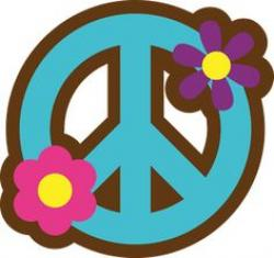 Hippie clipart peace and love