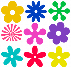 Hippies clipart pink flower