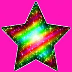 Glitter clipart reach for star