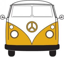 Hippie clipart vw bus