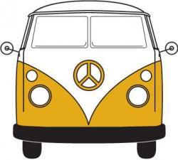 Hippie clipart vw bus