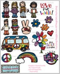 Hippies clipart esl