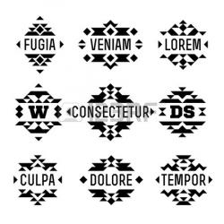 Hipster clipart aztec