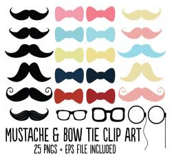 Hipster clipart bow tie