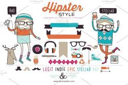 Hipster clipart epic