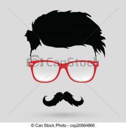 Hipster clipart hipster beard