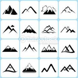 Montana clipart Mountain Clipart