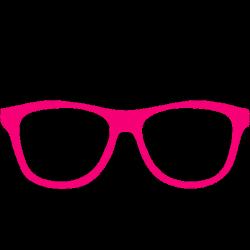Drawn spectacles geek