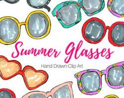 Drawn goggles