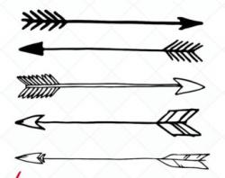 Line Art clipart tribal