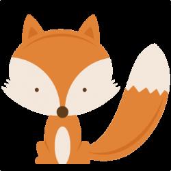 Creature clipart woodland fox